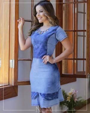 Moda Evangelica e Executiva   Vestido Camila